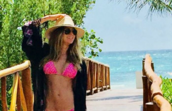 Sorprende Geraldine Bazán en topless