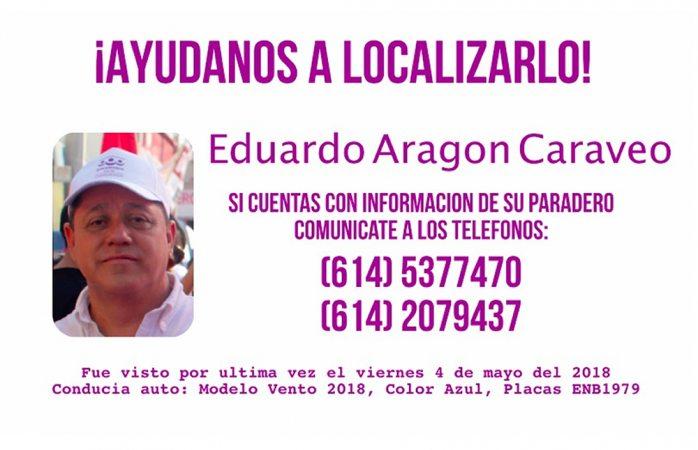 Encuentran asesinado a dirigente de Encuentro Social en Chihuahua