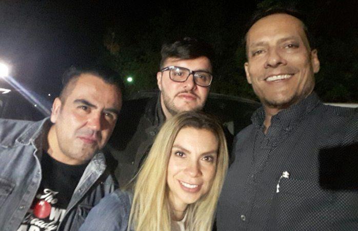 Estrellas de la TV mexicana se pasean por Chihuahua