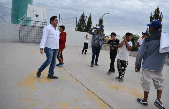 Más espacios deportivos para niños y jovenes: Alan Falomir