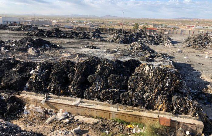 Vuelve a arder recicladora durante la madrugada en Juárez