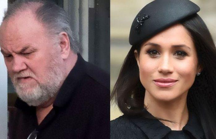 Padre de Meghan Markle no asistirá a la boda de su hija