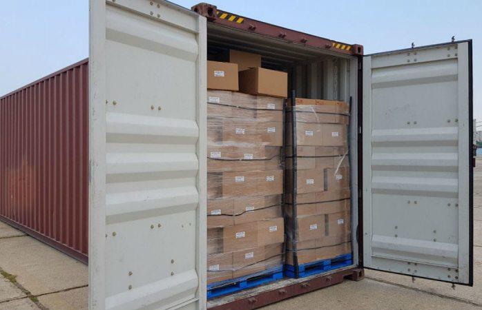 Aseguran 528 kilos de mariguana en contenedor de Sabritas