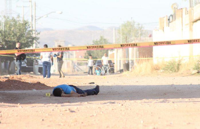 Asesinan a uno en Valle Dorado