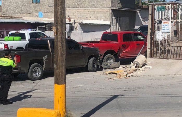 Chocan ministeriales en Juárez; quedan 4 lesionados