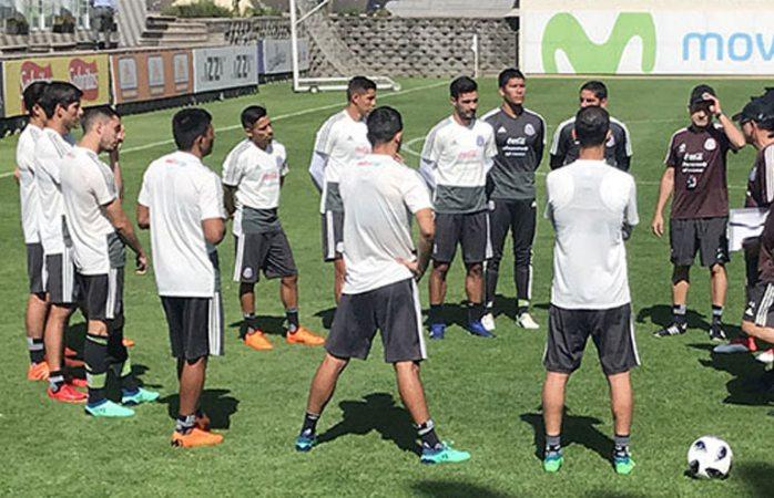 Se concentra Selección Mexicana