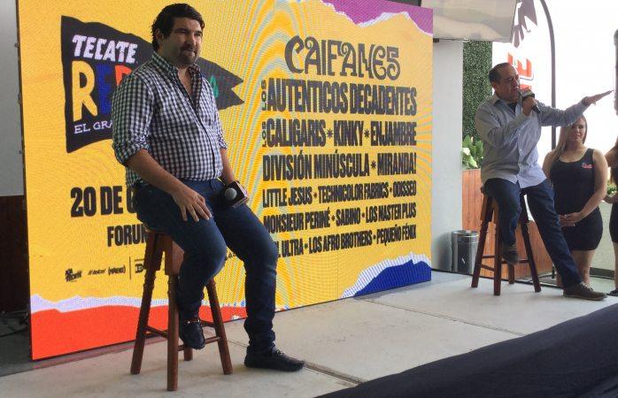 Presentan line-up del festival Tecate República