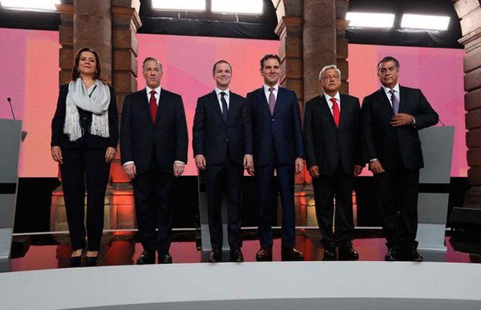Primer debate presidencial tuvo costo de 12.7 mdp