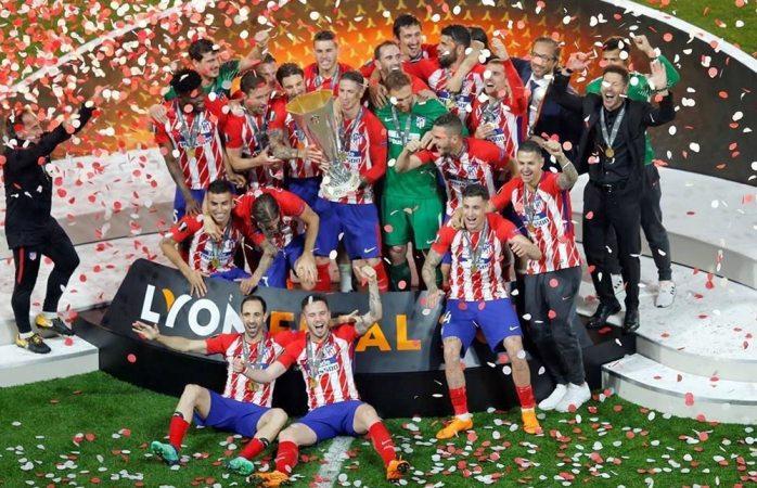 Atlético de Madrid se consagra en la Europa League
