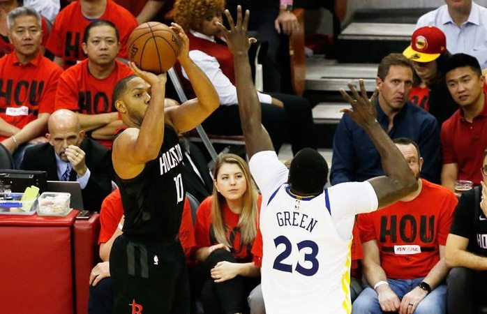 Rockets aplastan a Warriors e igualan la Final de Conferencia