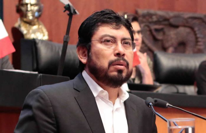 Deja senador delegación del Cen en el estado