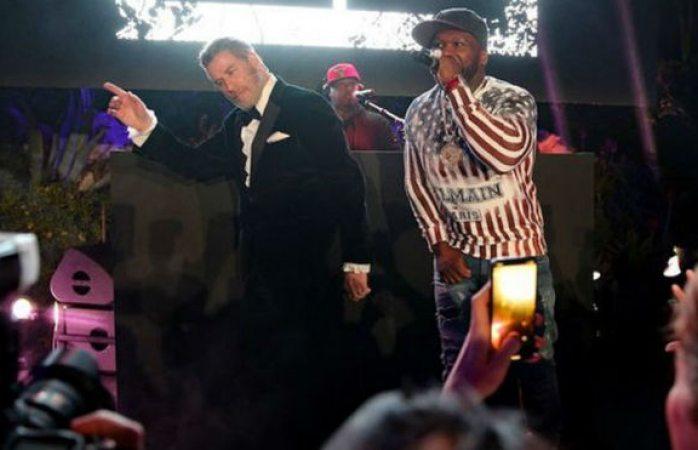 El que baila, baila: así lo demostró John Travolta con 50 Cent