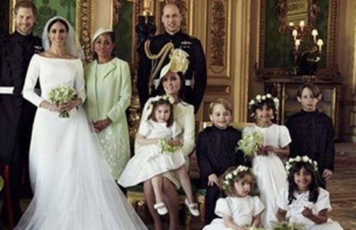 Fotos oficiales de la boda de Meghan y Harry