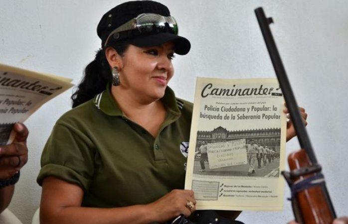 Nestora Salgado acusa a Meade de difamarla por llamarla secuestradora
