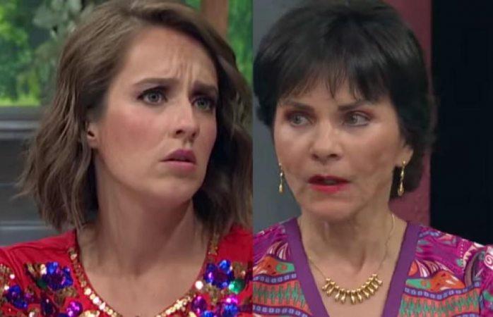 La Choco le hace caras a la Chapoy en transmisión en vivo