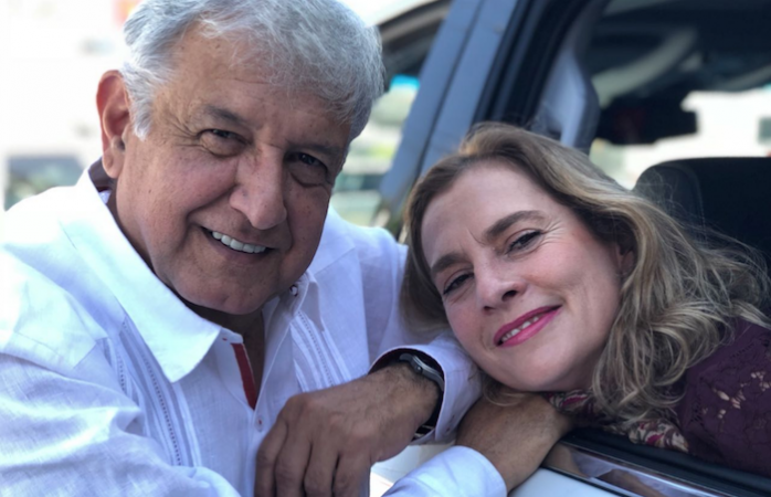 Vídeo: Beatriz Gutiérrez Müller le dedica otra canción a López Obrador