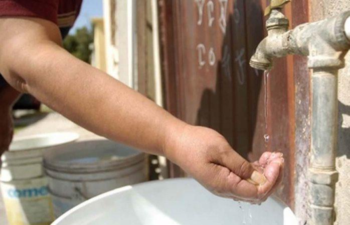 Sin agua varias colonias en la ciudad