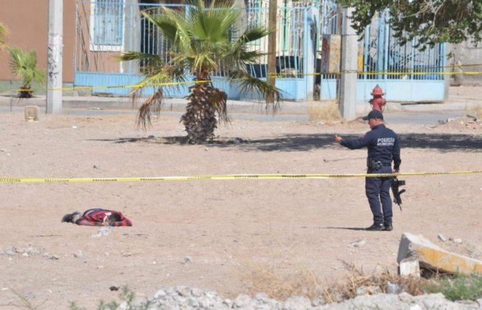 Ejecutan a uno en parque de Ciudad Juárez