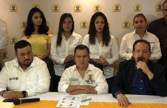 Encabeza dirigente nacional del PRD inicio de campaña local