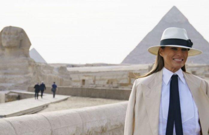 ¿Melania Trump gastó USD $95.000 en una sola noche en El Cairo?