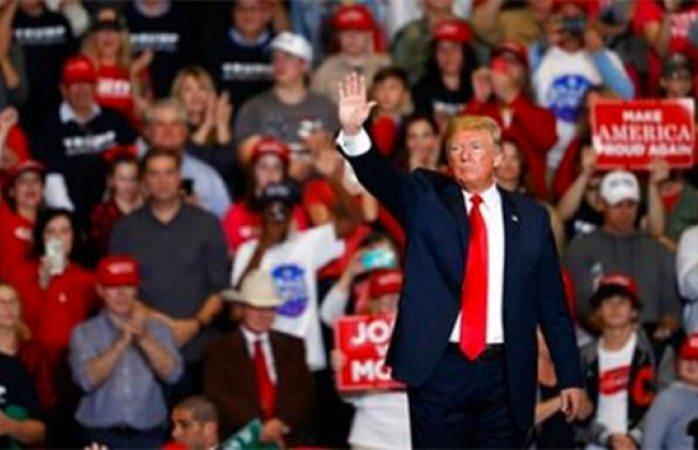 Trump no encontrará recursos para muro por elecciones en EU — México