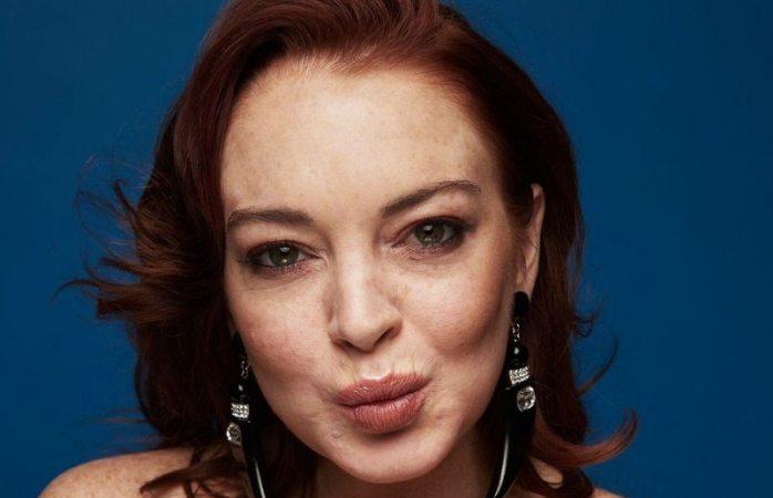 Se ve Lindsay Lohan más arrugada que nunca