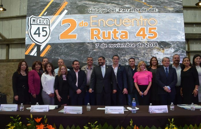 Gestionarán diputados federales recursos para ruta 45