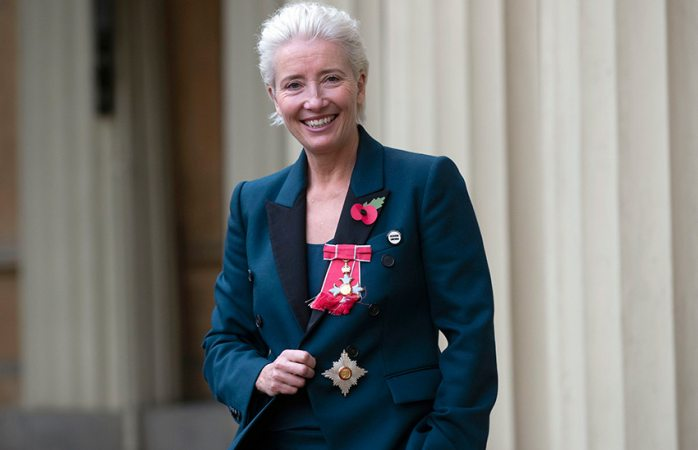 Nombran a Emma Thompson como dama del imperio británico
