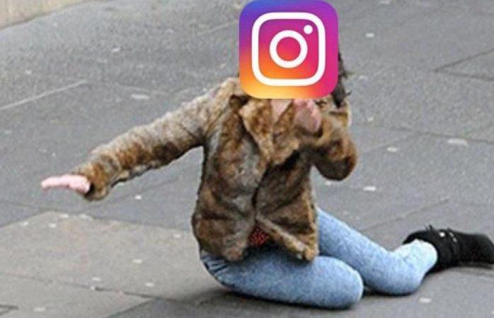 Sufre esta mañana caída mundial Instagram