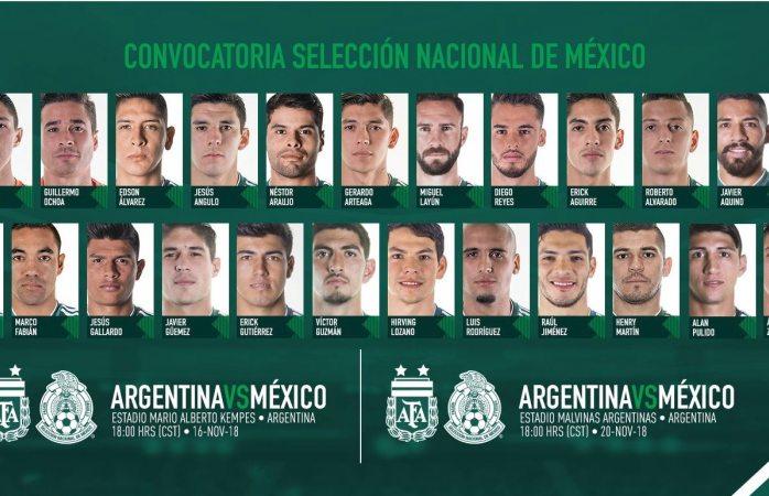 Estos son los elegidos para enfrentar a Argentina para fecha fifa