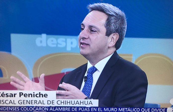 Aparece fiscal de Chihuahua en debate en TV nacional