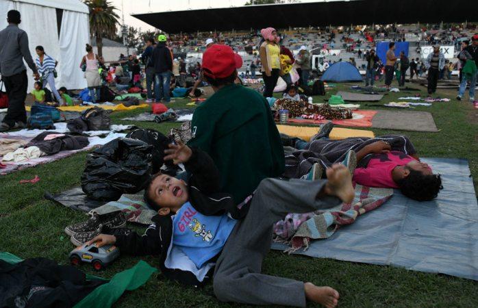 Llega al tope albergue de cdmx, ya son 5, 500 migrantes