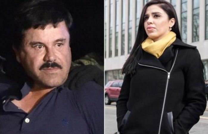 Pide el Chapo que le dejen abrazar a su esposa