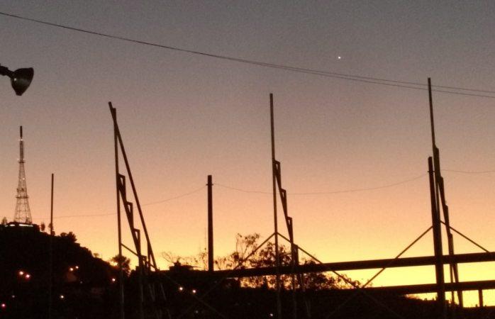 Objeto luminoso es un satélite argentino