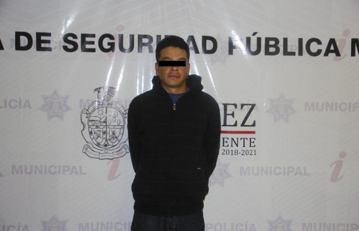 Detienen a vecino por allanar vivienda en Juárez