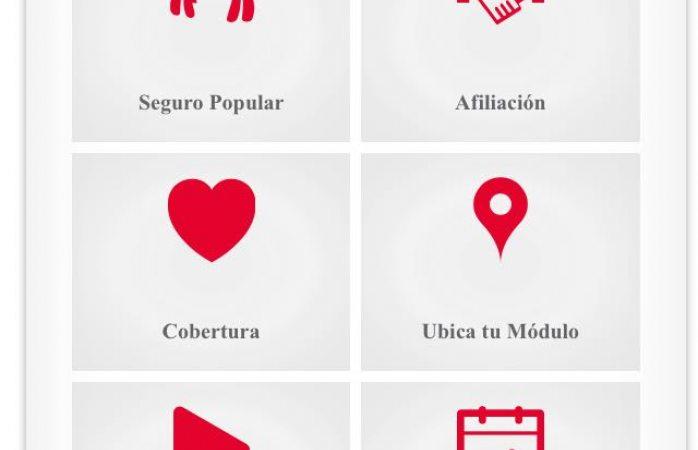 Lanzan gobierno de Chihuahua app de Seguro Popular