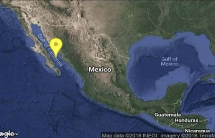 Se registra temblor de 4.8 en Baja California Sur