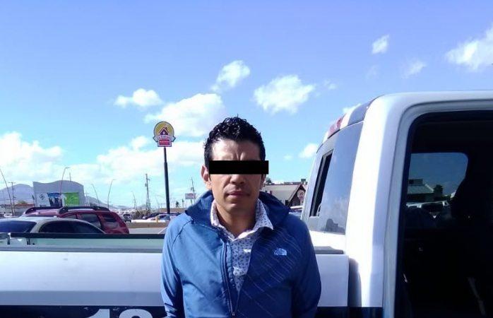 Lo arrestan por conducir un auto robado en Juárez