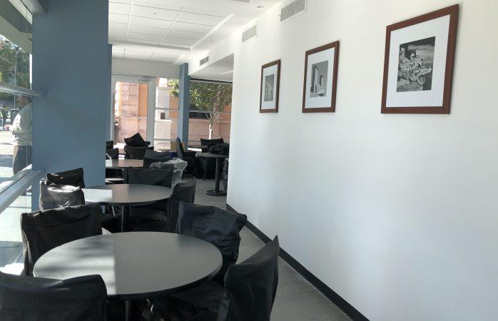 Mueven cafetería de congreso a planta baja