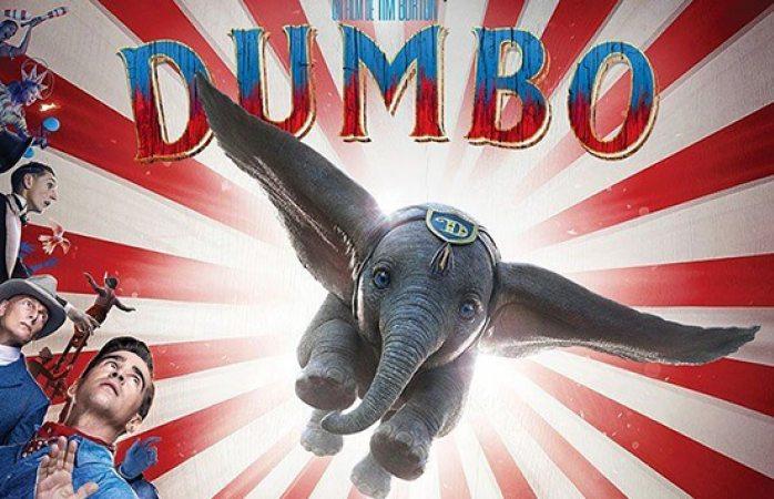 Publican póster oficial de la película live action Dumbo