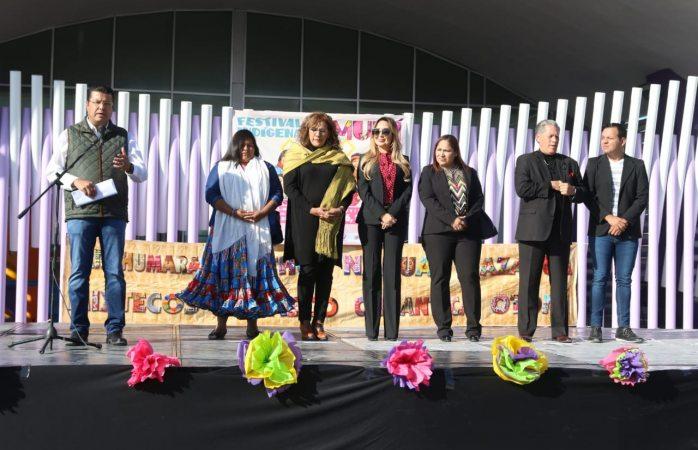 Inaugura Cabada festival indígena en Juárez