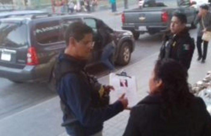 Operativo en el centro de Juárez, buscan a menor desaparecida en 2017