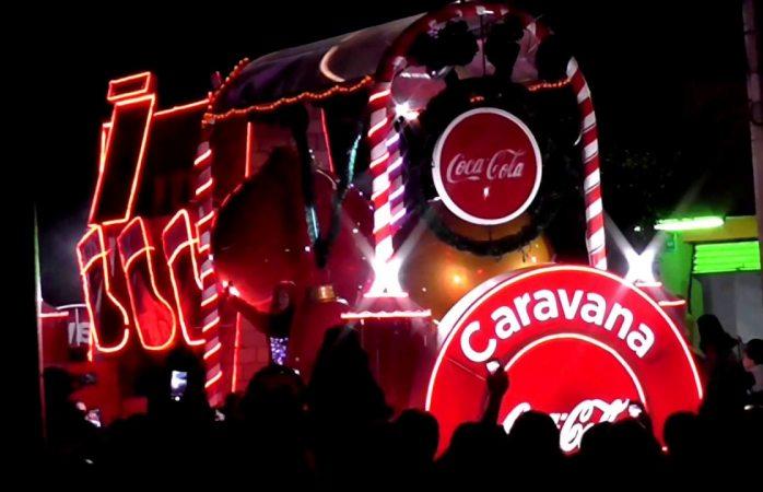 Llegará caravana coca cola el 16 de diciembre a Chihuahua
