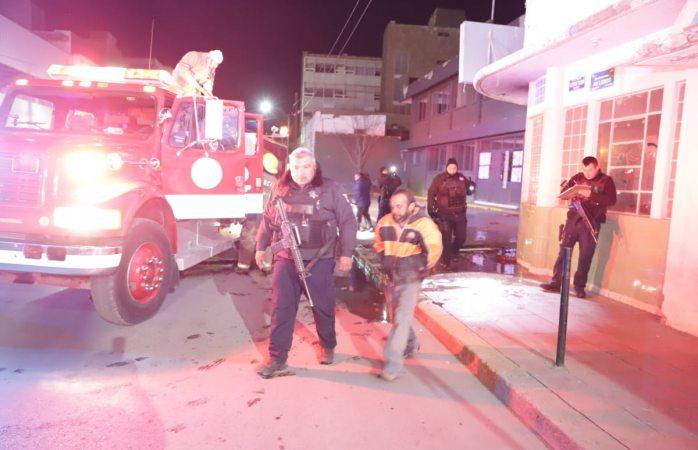 Sofocan incendio en el hotel Juárez