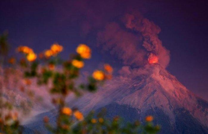Hasta Chiapas llegarán cenizas de volcán de fuego de Guatemala