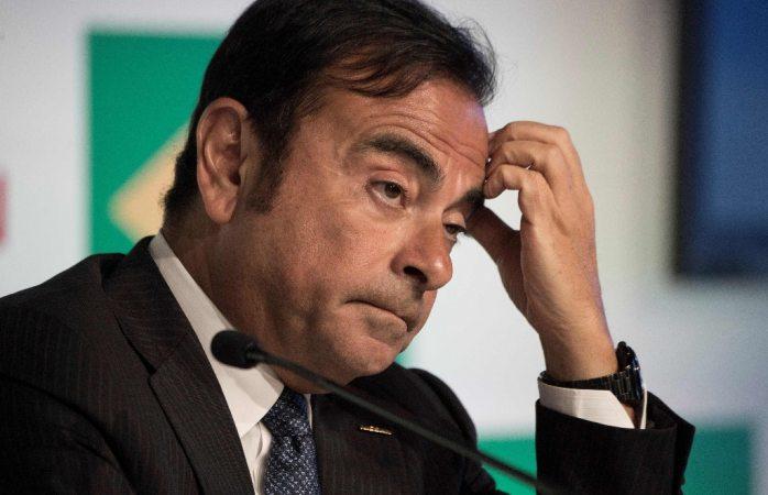 Detienen al presidente de Nissan acusado de malversación