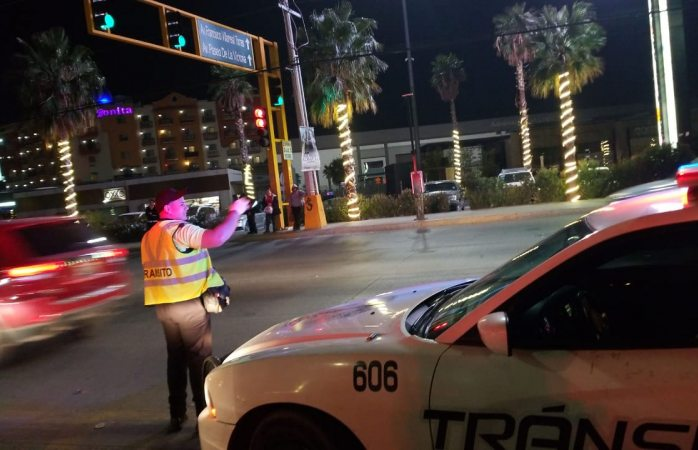 Buen fin se llevó a cabo en orden y sin incidentes viales en Juárez: Tránsito