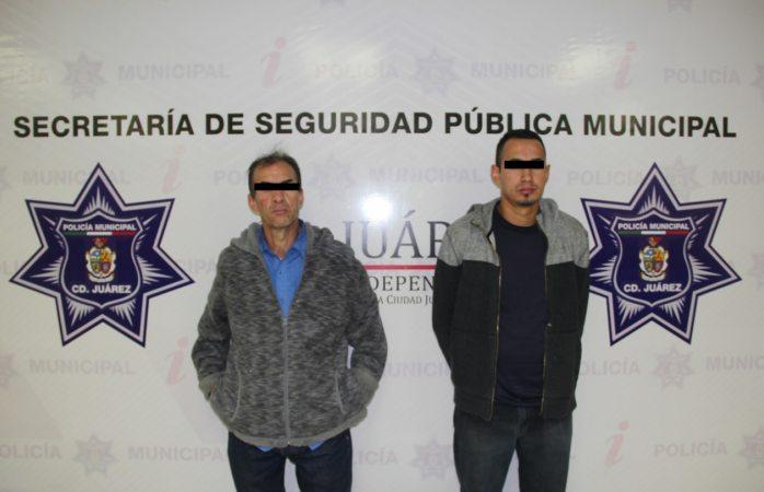 Detienen a padre e hijo que secuestraron a hombre en Juárez