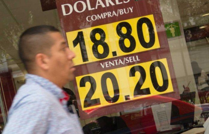 Se cotiza el dólar en los $20.20 en México