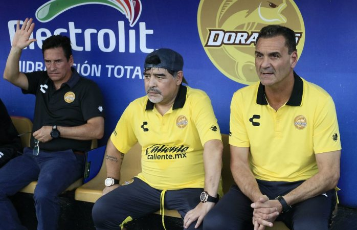 Es Mario García el cerebro en el cuerpo técnico de Maradona